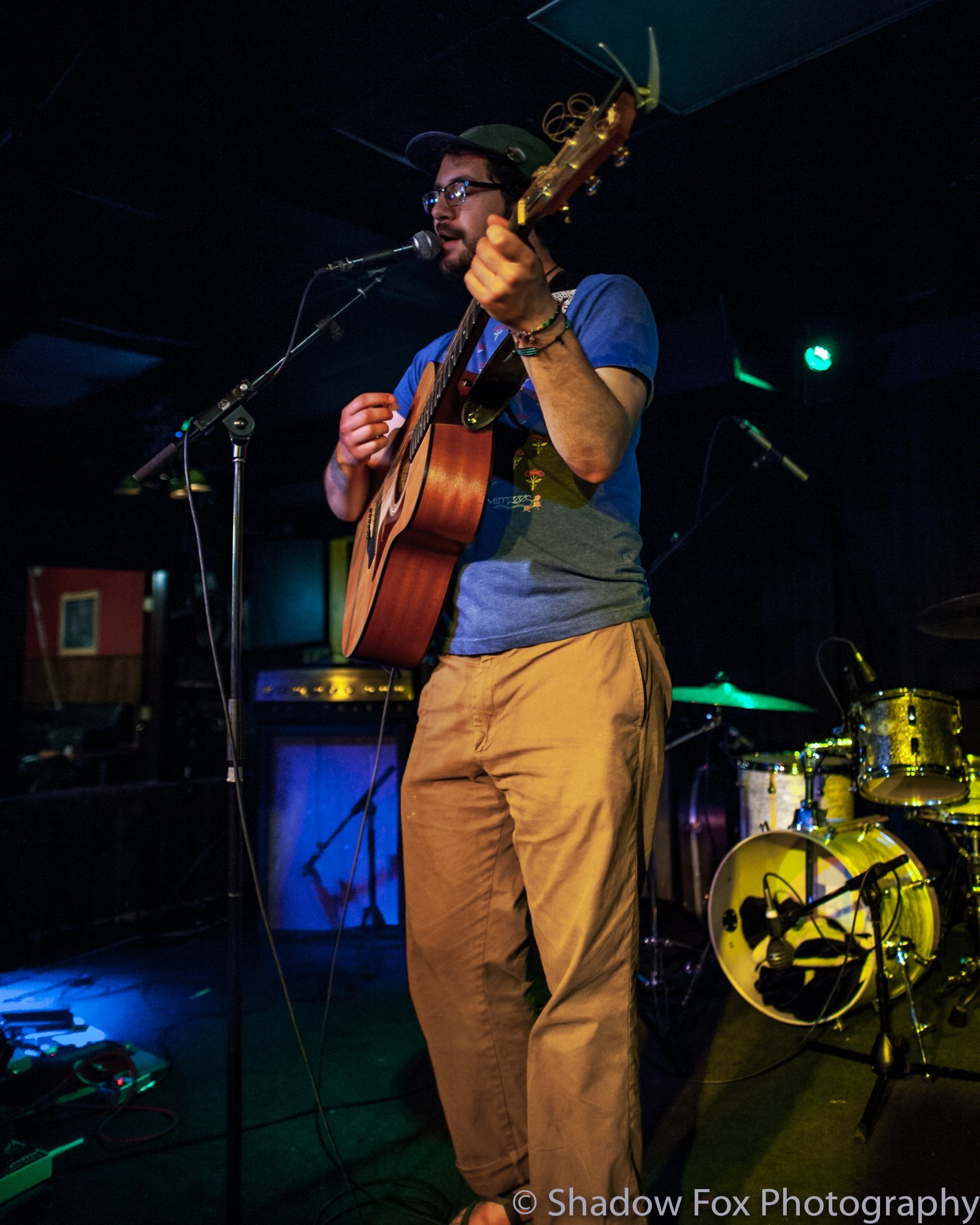 Satchel Bruna playing at The Mill in Iowa City