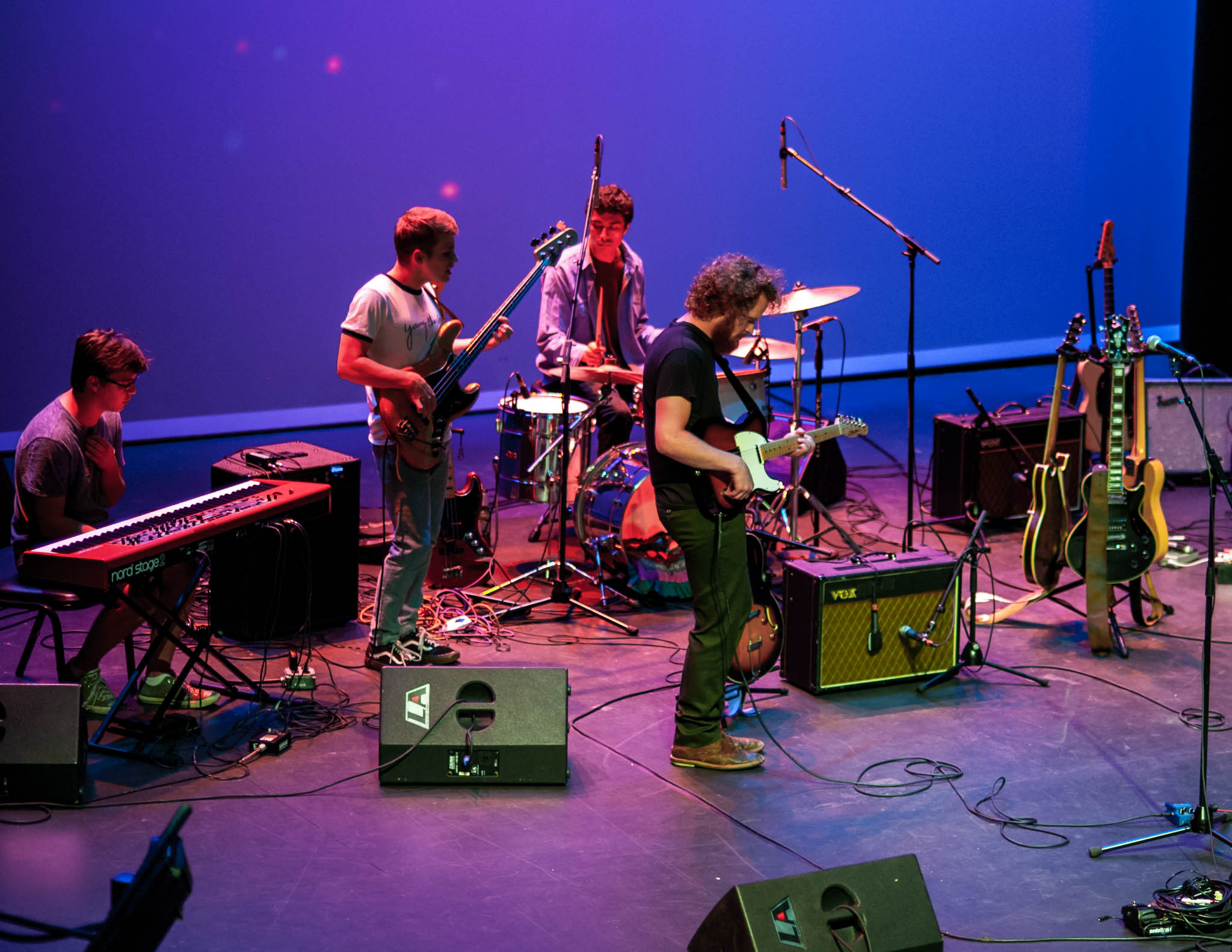 Young Charles playing at The Englert Theatre in Iowa City