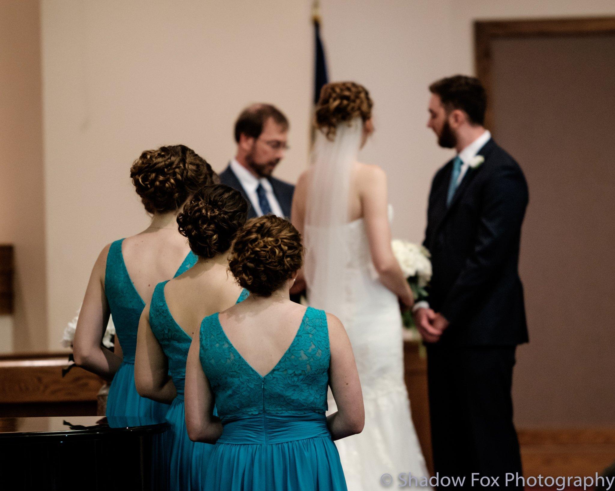 Photo of the wedding ceremony
