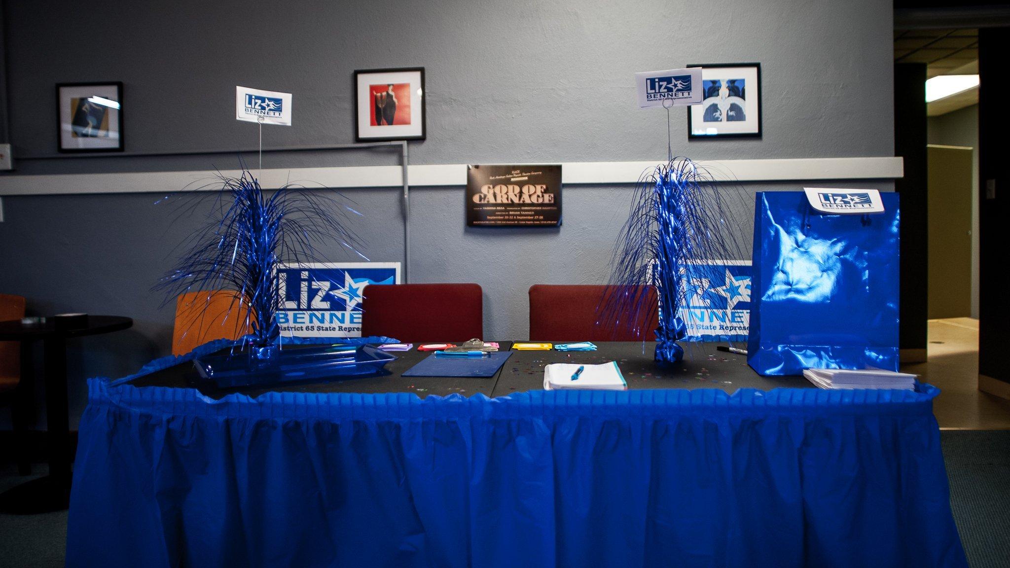 State Representative Liz Bennett's Celebrity Karaoke Night Fundraiser at the Rich Heritage of Cedar Rapids Theatre Company