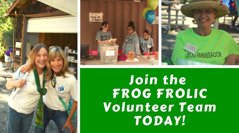 Join the Frog Frolic Volunteer Team, Today!