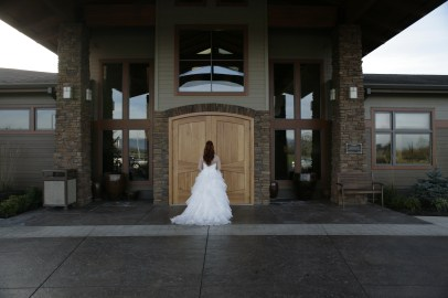 bride doors entrance