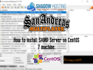How to install SAMP server on CentOS 7 server