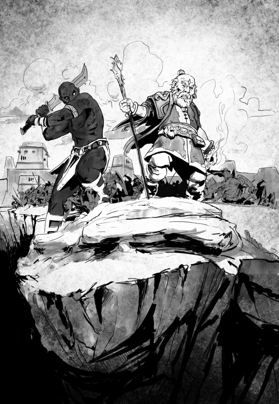 Ilustración de Marlock
