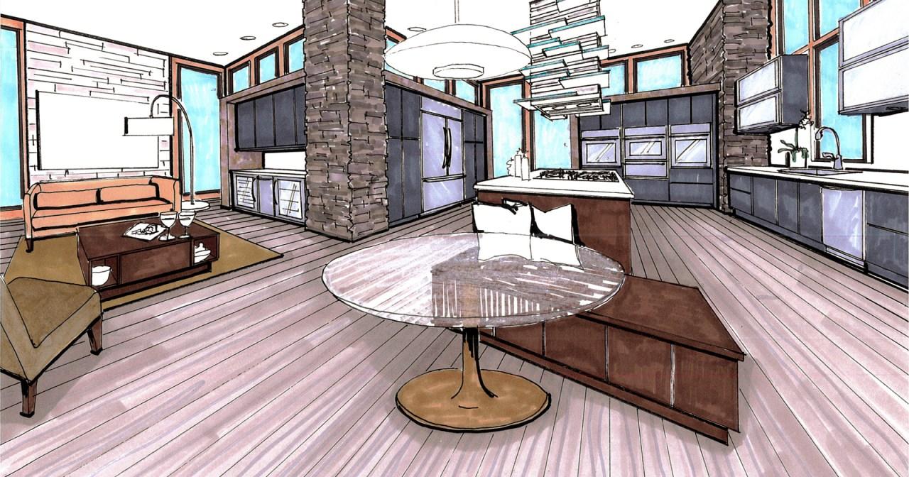 KitchenAide Contemporary Render