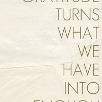 Unending Gratitude