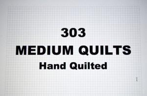 303 MEDIUM QUILTS