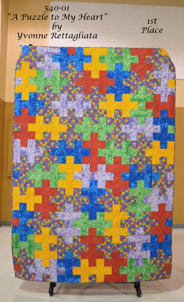 540-01 A Puzzle to My Heart