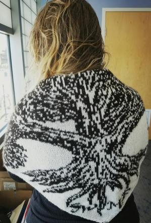 SWMF shawl will be auctioned