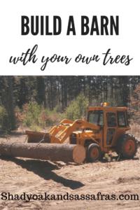 building barn pine tractor 30b