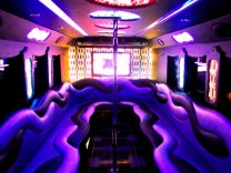 wedding party bus rental limousines image
