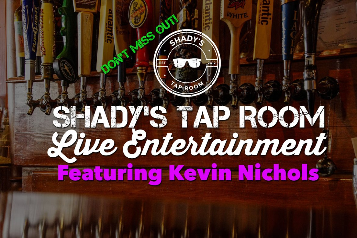 Live Entertainment Featuring Kevin Nichols Saturday December 16, 2017