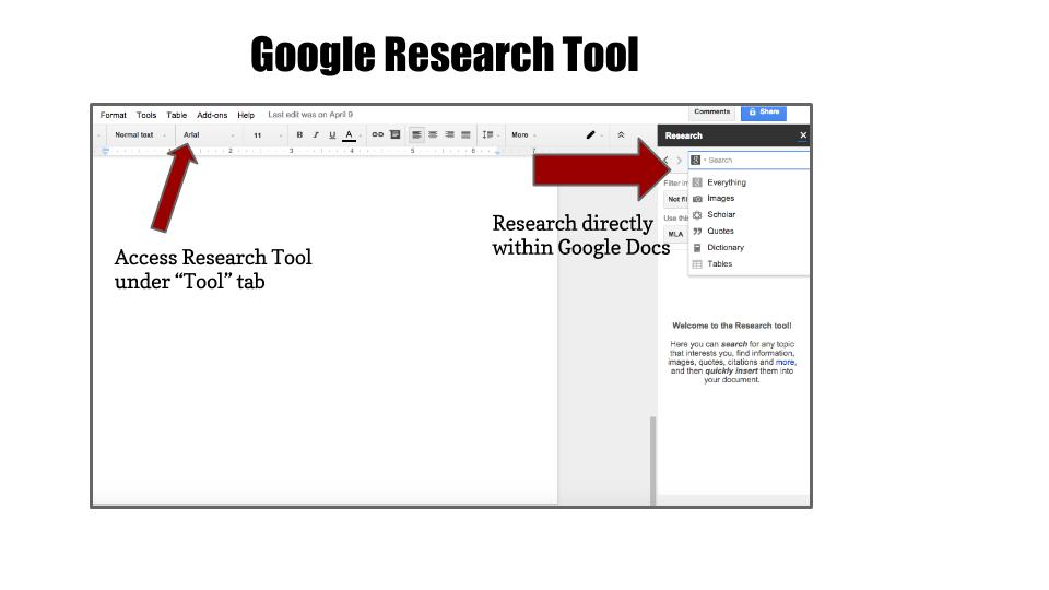 5 Google Resources to Support Student Writing