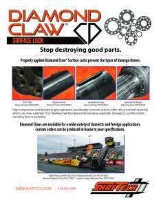 Diamond Claw® Info Front