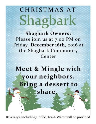 Christmas at Shagbark
