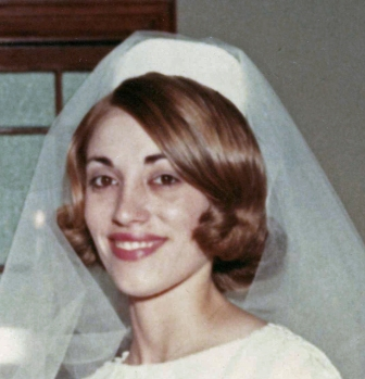 My mom on her wedding day.