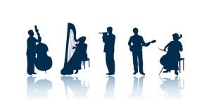 Musician 10 silhouettes