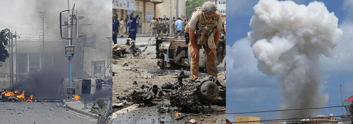 مقتل وإصابة أكثر من 25 عنصرا في هجمات لحركة الشباب المجاهدين على القصر الرئاسي في مقديشو: