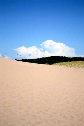 Sand and sky at Sleeping Bear Dunes National Park