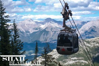 The gondola ride is a faster way to get to the top of Sulphur Mountain for some truly spectacular views.