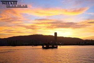 Penang coast at sunset