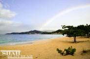 The always charming Grand Anse Beach.