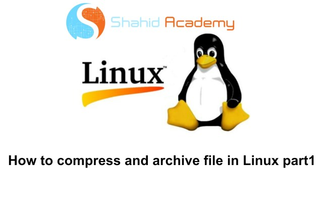 Linux File compression and archiving using bzip2, gzip and