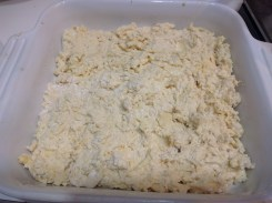 Pre-baking without topping