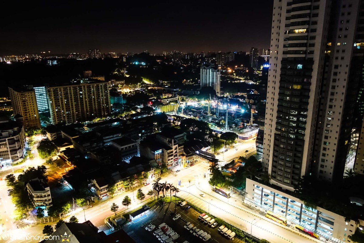 Hotel Kuala Lumpur - Aloft KL Sentral Breezy Suite - More nighttime view