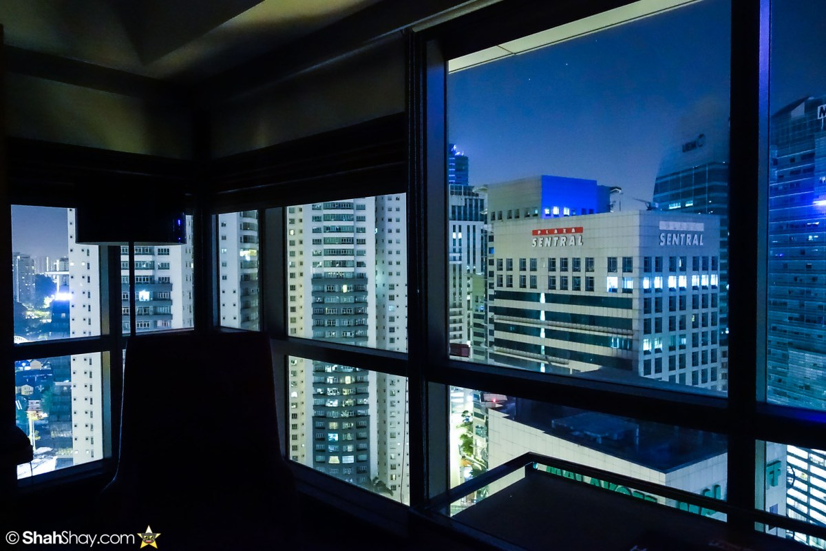 Hotel Kuala Lumpur - Aloft KL Sentral Breezy Suite - Nighttime view
