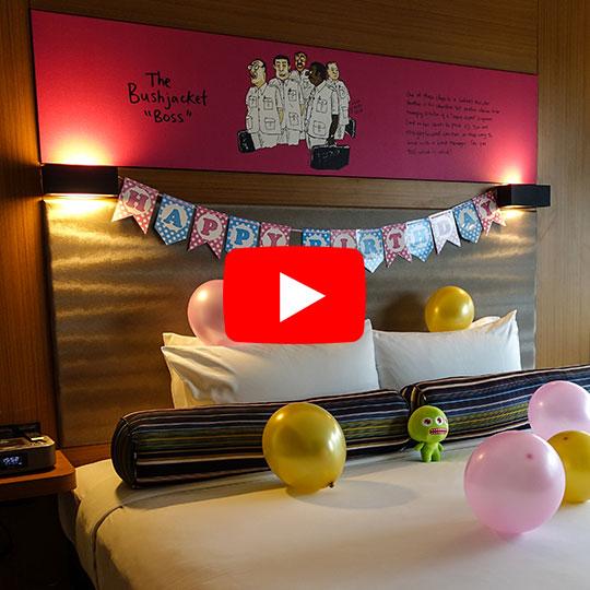 Aloft KL Sentral Breezy Suite Room Tour now on Youtube!