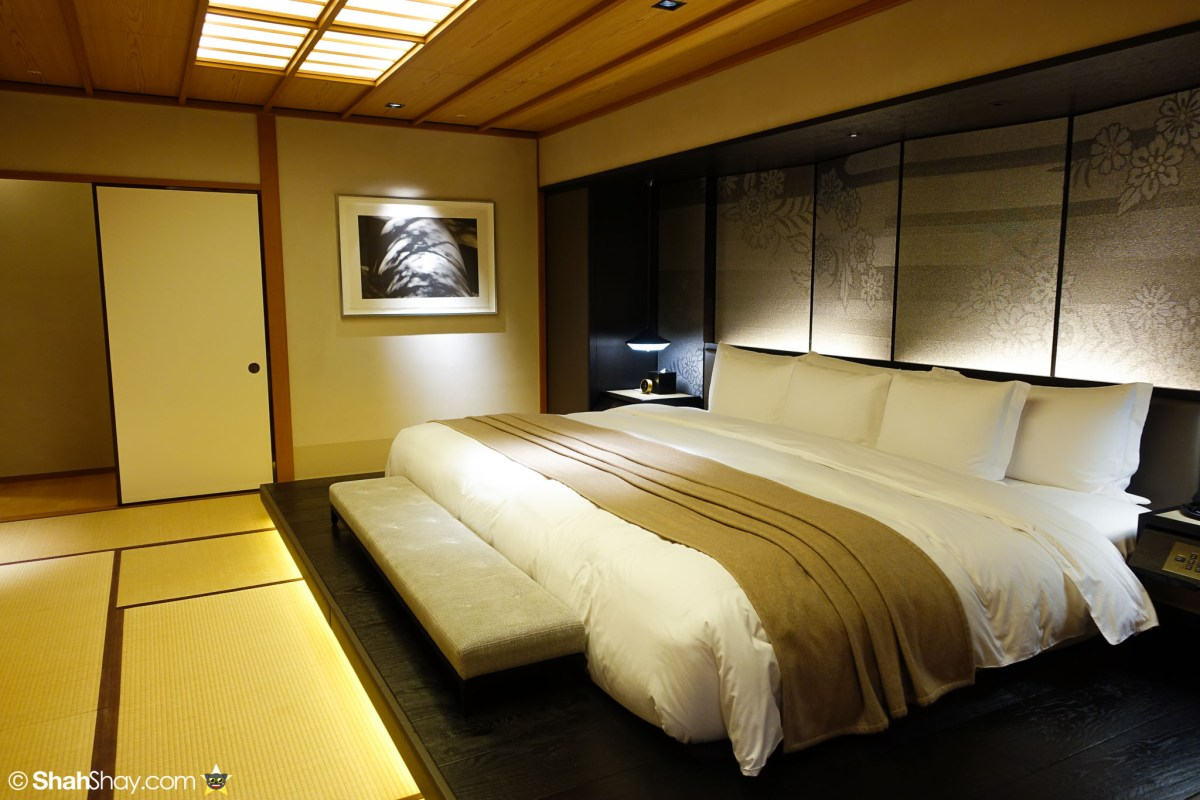 The Ritz-Carlton Tokyo Rooms - Modern Japanese Suite - Bed