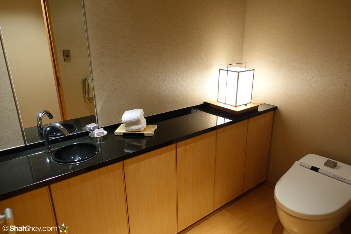 The Ritz-Carlton Tokyo Rooms - Modern Japanese Suite - Toilet
