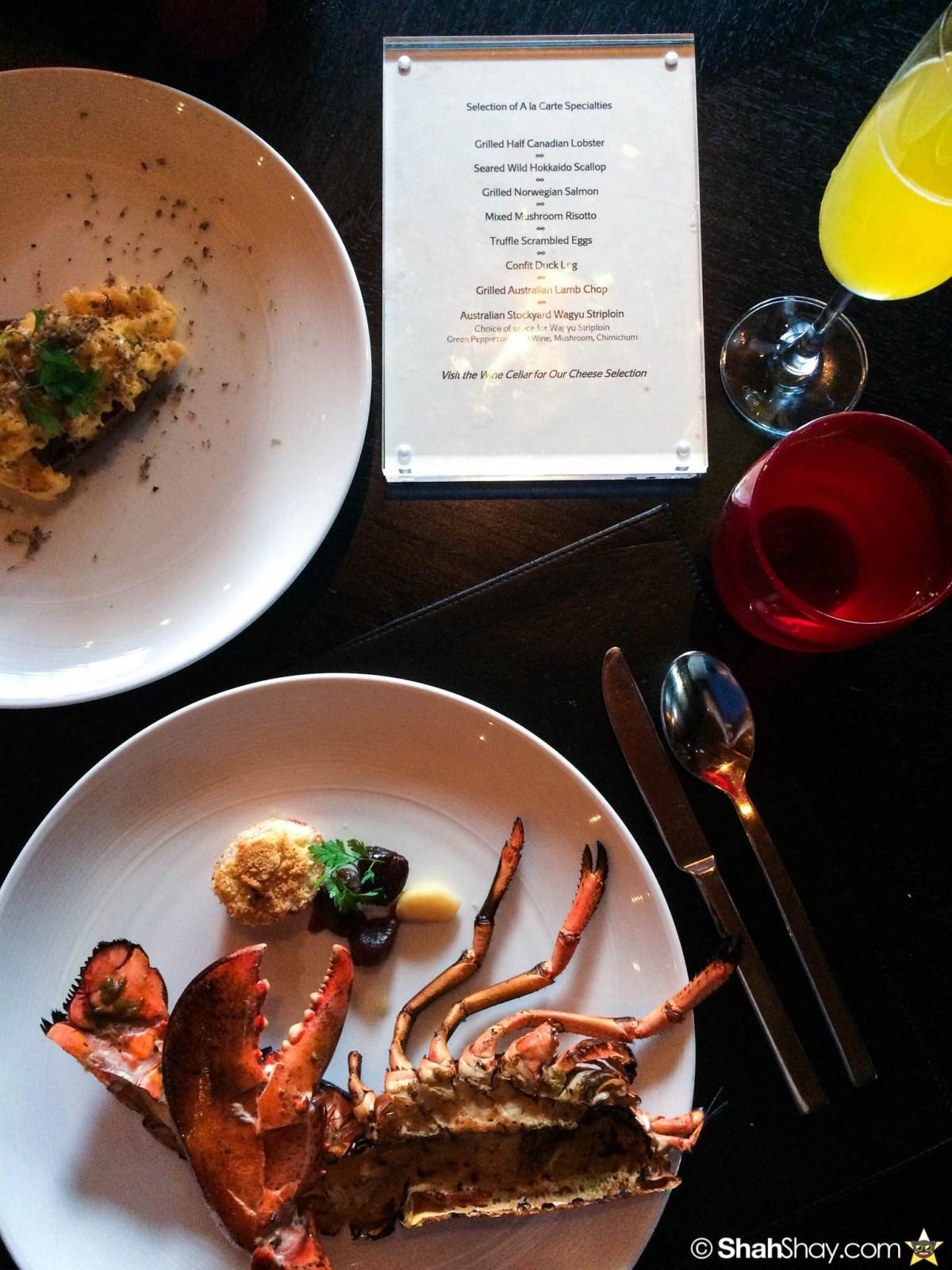 Sunday Brunch Bangkok - Fabulous Brunch Buffet Spread at The District - Lobster Truffle eggs