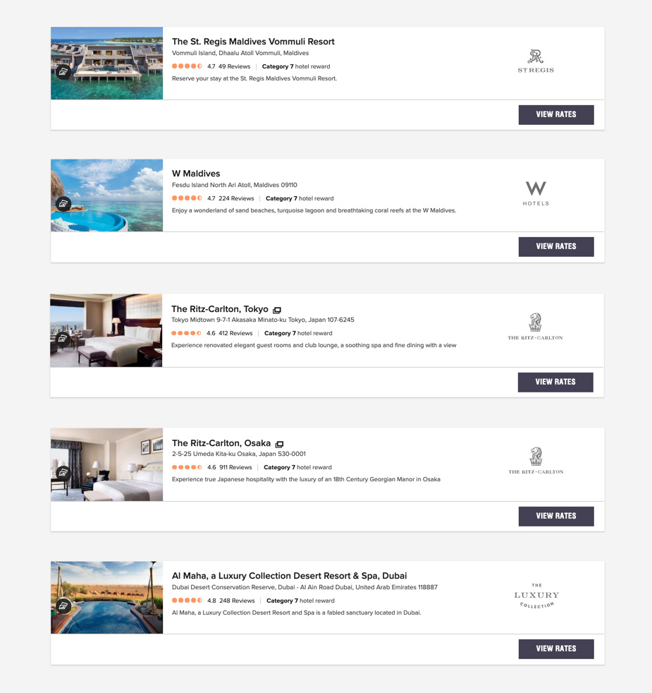Last day to book Marriott Bonvoy Category 7 hotels