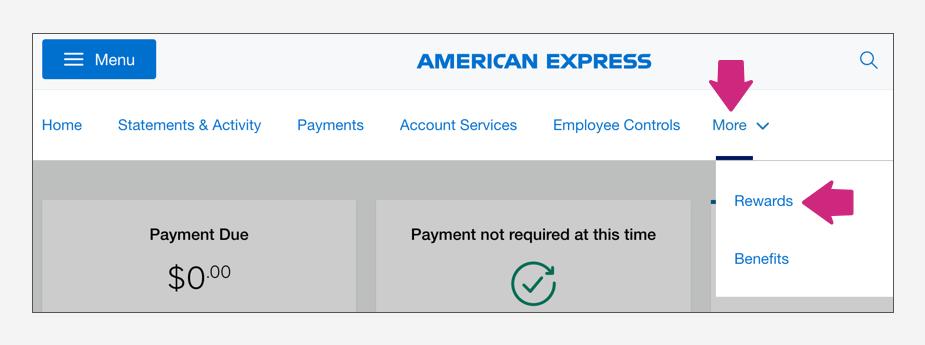 How to transfer American Express Membership Rewards to Avianca LifeMiles Step 1