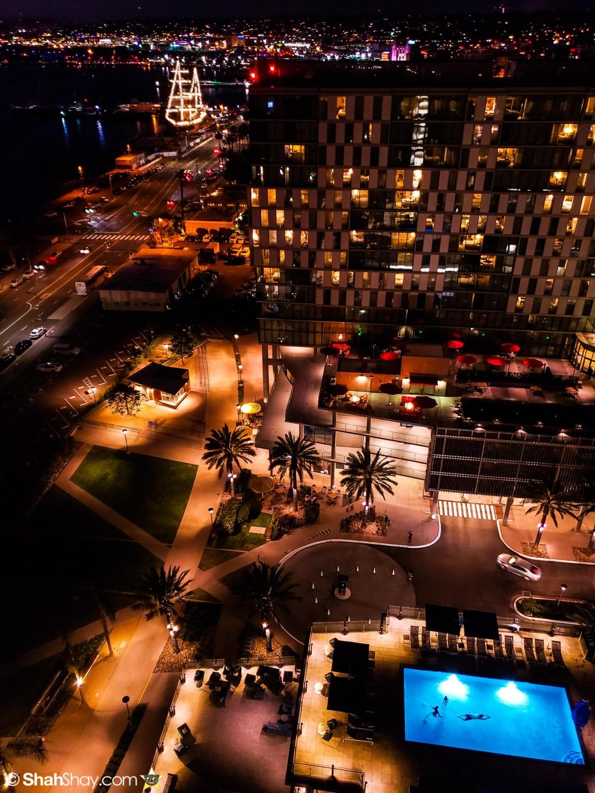 InterContinental San Diego Fitness Center - Night View