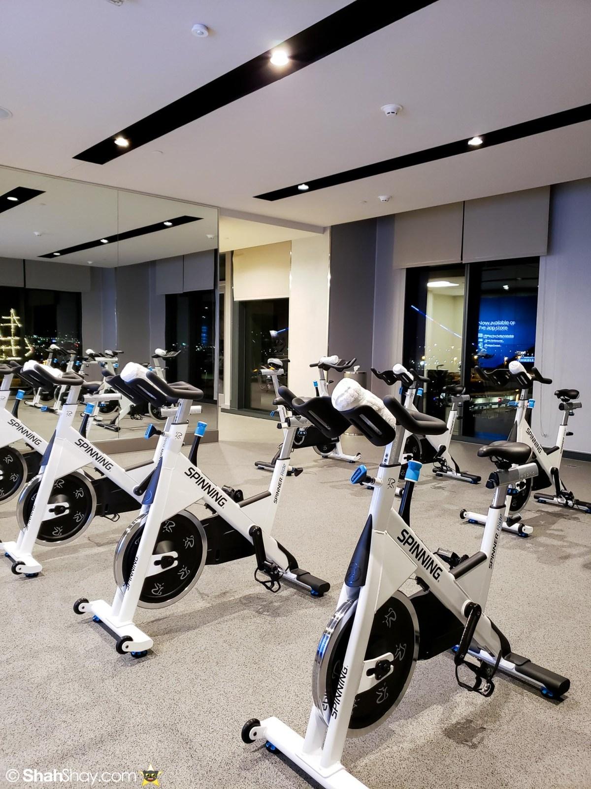 InterContinental San Diego Fitness Center - Spin Bikes