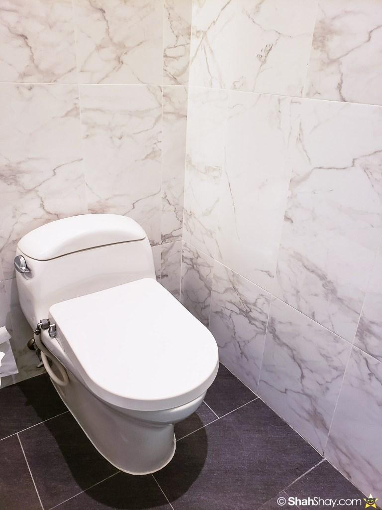Le Méridien Suite Review at The Le Méridien Kuala Lumpur - toilet