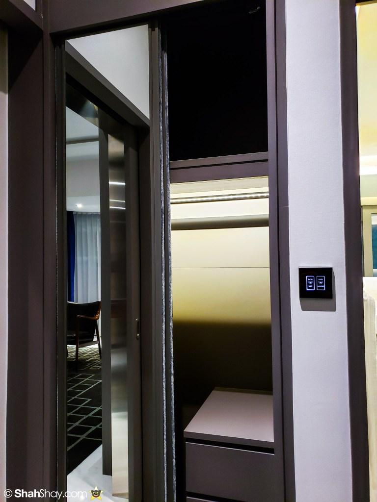 Le Méridien Suite Review at The Le Méridien Kuala Lumpur - bedroom  closet