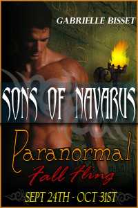 Sons Of Navarus - Paranormal Romance - Book Tour