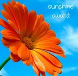 The Sunshine Blogger Award Image