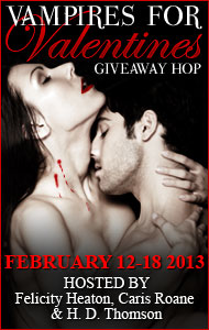 Why you should date #Vampires this #Valentine – Give Away Hop: 5 eCopies of Finding Esta (#1 The Supes Series)