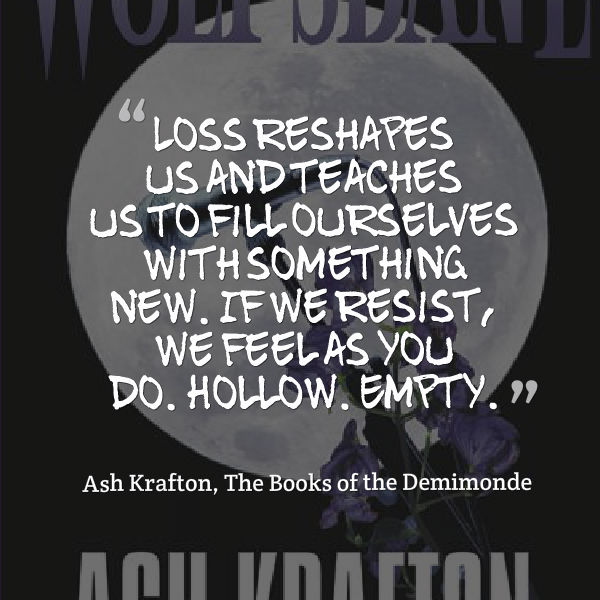 WOLF'S BANE (Demimonde #3) by Ash Krafton – Release Tour #vampires #giveaway