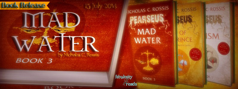 Book Spotlight: Mad Water (Perseus Series #3) by Nicholas C. Rossis