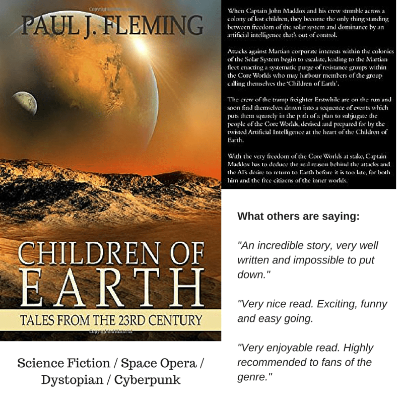 Children of Earth by Paul J. Fleming – Kindle Countdown Ends Midnight 1st July!