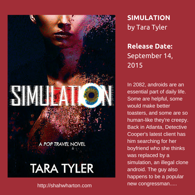 Cover Reveal: SIMULATION by Tara Tyler #SciFi #SpecFic #YA