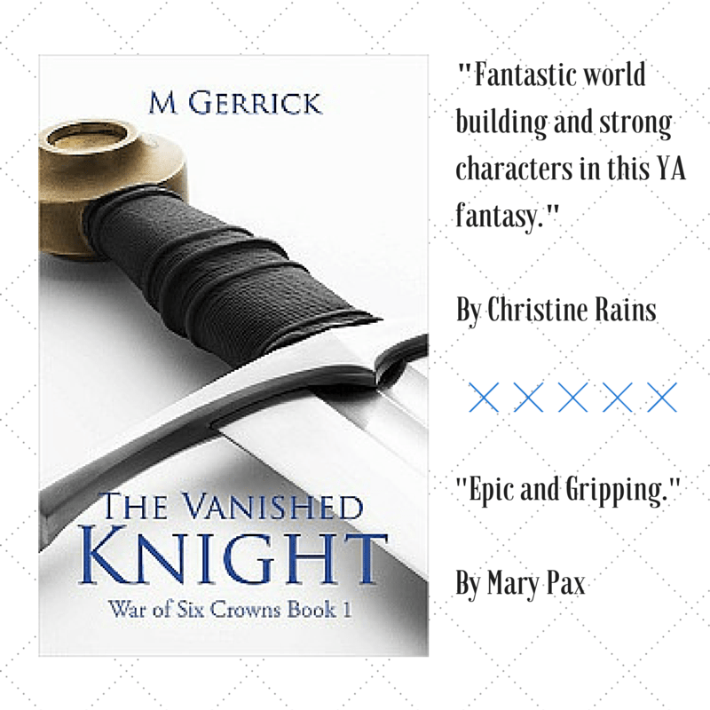 """Ten Reasons Why I Prefer Self-Publishing"" by M Gerrick Plus Book 1 & 2 of The War of Six Crowns series. #Fantasy #SelfPublishing"