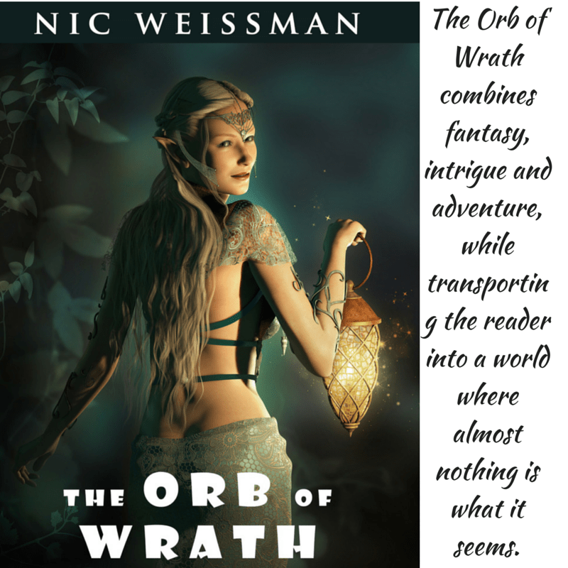 The Orb of Wrath by Nic Weissman PLUS #Interview #Fantasy #YA