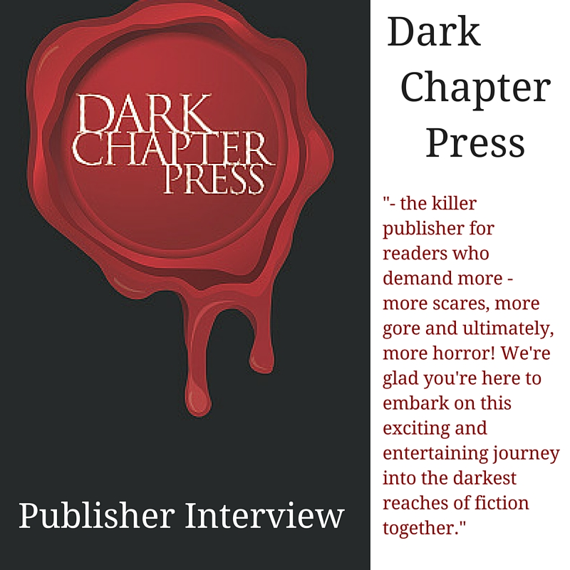 CELEBRATE: Getting the dirt on #horror #publisher – Dark Chapter Press